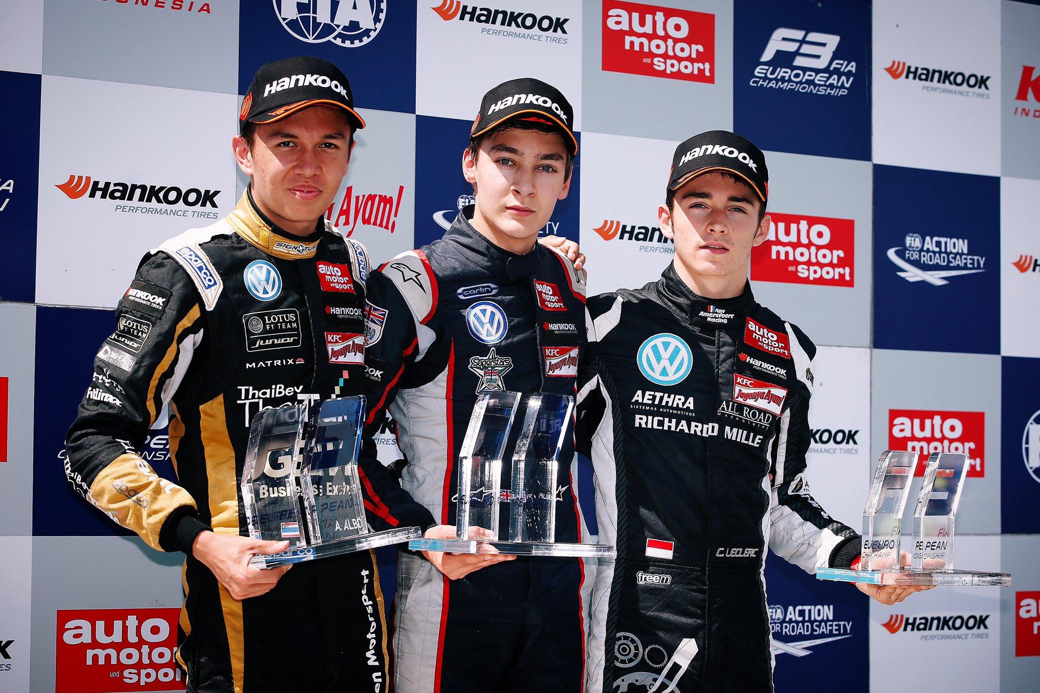 Leclerc conseille Russell sur son nouveau défi de Mercedes